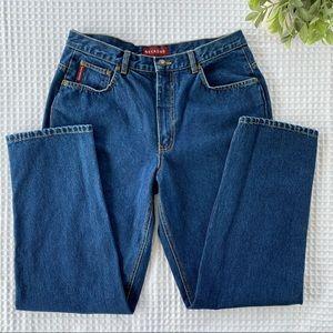 Nevada High-Waisted Medium Wash Mom Jeans